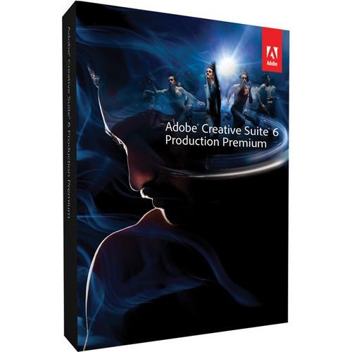 Adobe Creative Suite 6 Production Premium - DVD