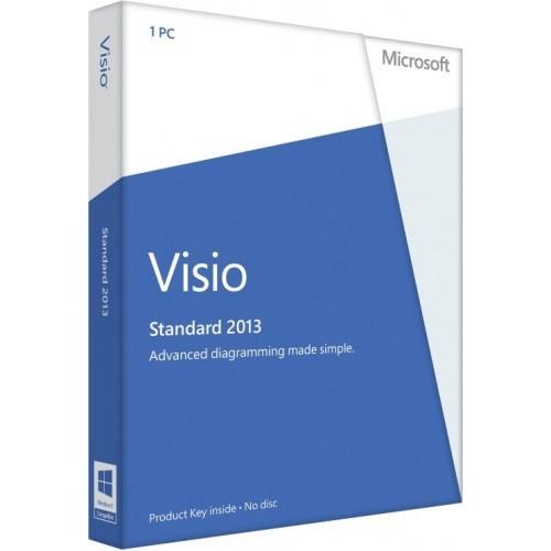 Microsoft Visio 2013 Standard - Download