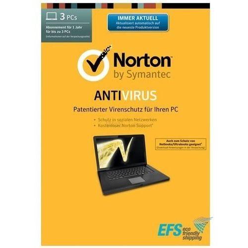 Norton Antivirus 2017 - 3pcs 1 Jahr - Download