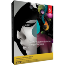 Adobe Creative Suite 6 Design Standard  Student und Teacher Edition - Deutsche - DVD