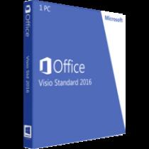 Microsoft Visio Standard 2020 - Deutsch -  Download